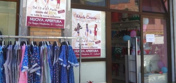 negozi stranieri e cinesi a Roma