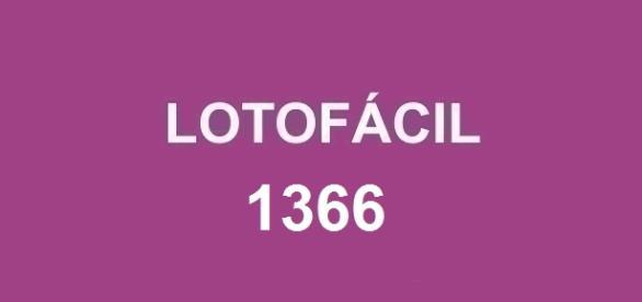 Penúltimo sorteio de 15 dezenas nessa semana; Resultado da Lotofácil 1366 divulgado pela Caixa.