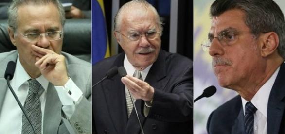 Todos grampeados pelo delator Sérgio Machado.
