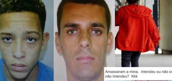 Bandidos foram identificados pela polícia carioca