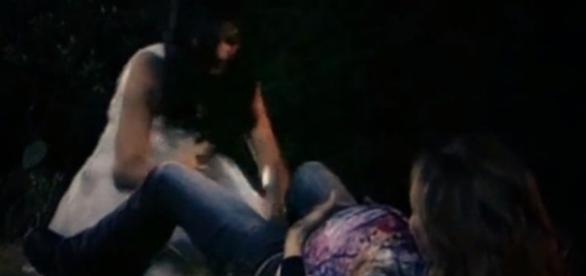 Cena foi reexibida pelo SBT e foi parar nos Trending Topics do Twitter (Foto: SBT/Youtube)