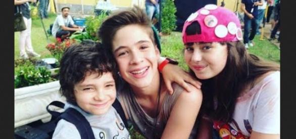 Felipe, Júlia e Joaquim vão para orfanatos