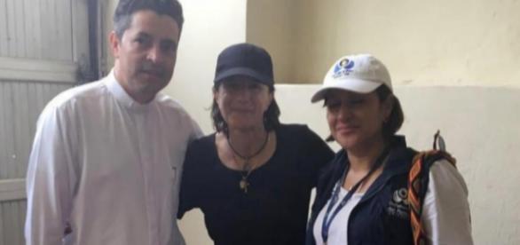 Periodista Colombo-Española, Salud Hernandez