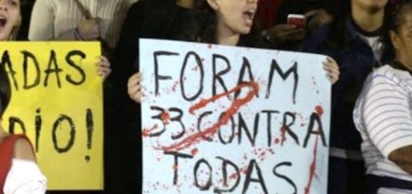 Caso levou mulheres às ruas para protestar contra a cultura do estupro.