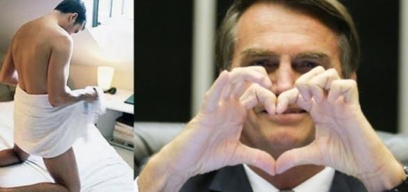 Jair Bolsonaro - Foto/Montagem