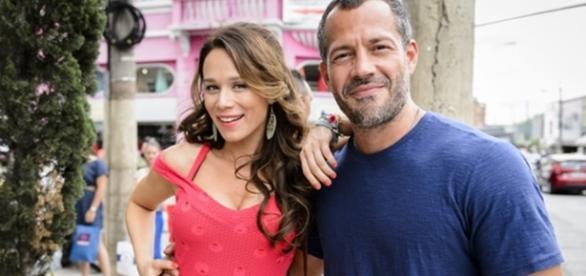 Mariana Ximenes formará casal com Malvino Salvador (Globo/Divulgação)