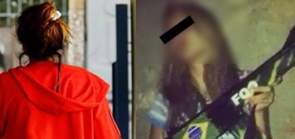 Menina que diz ter sido estuprada ganhou 100 mil seguidores