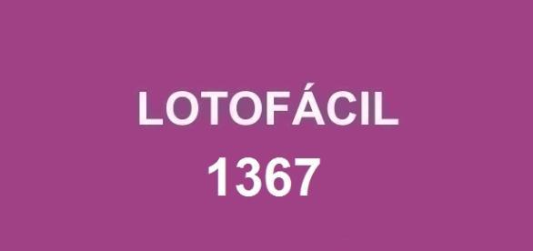 Resultado da Lotofácil 1367 divulgado nessa sexta-feira (27)