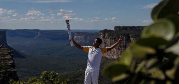 Várias cidades de Sergipe receberam a tocha olímpica.