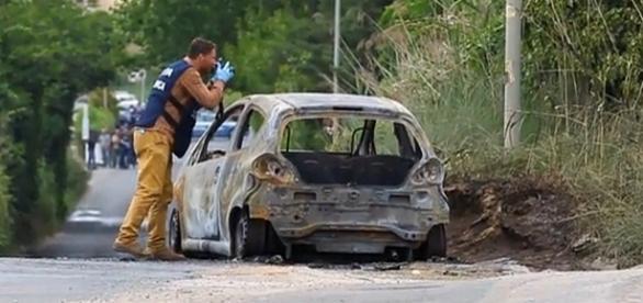 Autoridades investigam macabro crime ocorrido numa estrada isolada