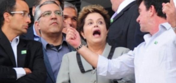 Marcelo Odebrecht e Dilma Rousseff
