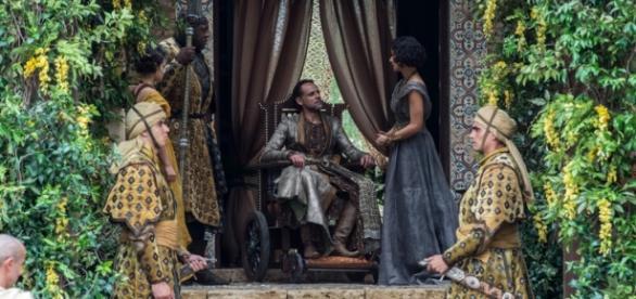 Príncipe Doran é assassinado por Ellaria (Foto: Divulgação/HBO)