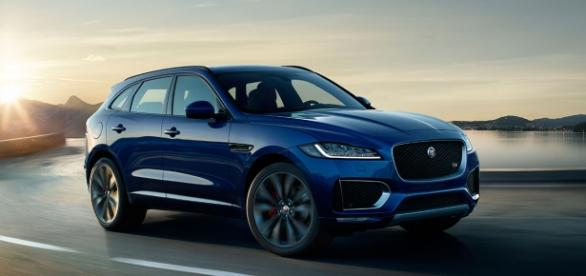 Jaguar F-PACE (source Jaguar UK)