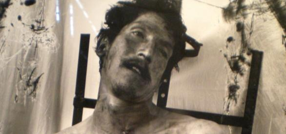 "Joel Peter Witkin ""El hombre de vidrio"", 1994"