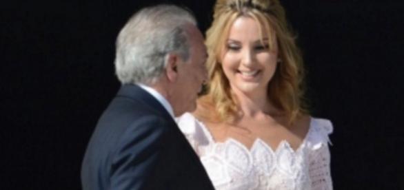 Michel e Marcela Temer - Imagem/Google