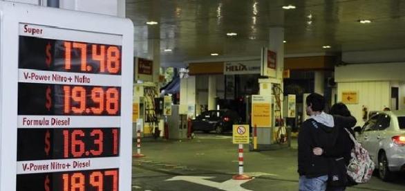 Naftas con precios nuevos, ya lleva una aumento acumulado del 31 %