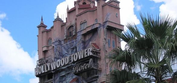 The 'Twilight Zone' Tower of Terror. Deror avi/Wikimedia Commons