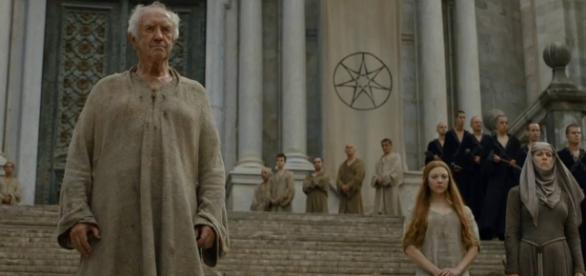 A Cora e a Fé se unem em Game of Thones. Imagem: HBO/Google