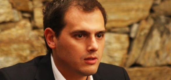 Albert Rivera è il leader del partito Ciudadanos