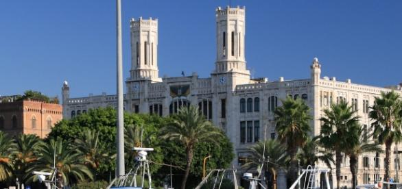 Cagliari, il palazzo del Comune