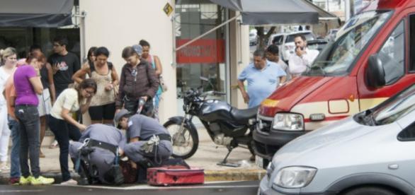 O jovem português não resistiu aos ferimentos
