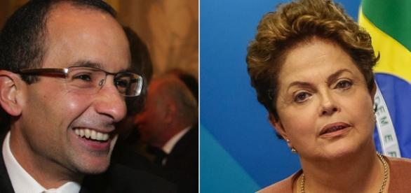 Presidente afastada, Dilma Rousseff, nega que tenha se encontrado com empresário Marcelo Odebrecht, porém arquivos do Planalto a desmentem.
