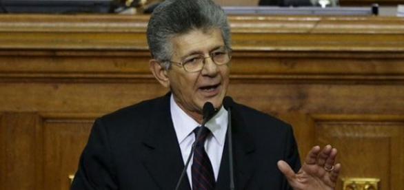 Presidente del Parlamento Venezolano, Henry Ramos Allup