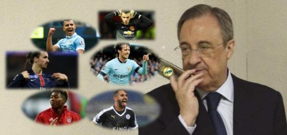 Florentino Pérez sueña con el fichaje de varias estrellas europeas