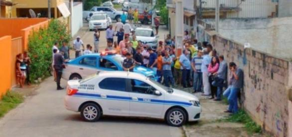 foto da morte do taxista em 31/05