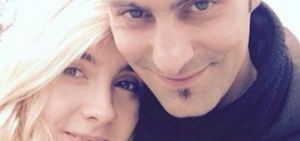 Sara Di Pietrantonio com o ex-namorado Vincenzo Paduano