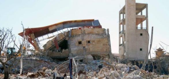 Todavía no está claro si el ataque fue llevado a cabo por aviones de combate rusos o sirios