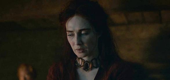 A oração ao Senhor da Luz foi feita no fim do segundo episódio (Foto: Reprodução/HBO)
