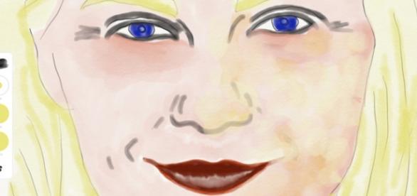 Adobe Sketch work in progress on iPad Pro with Apple Pencil ©John Schulze