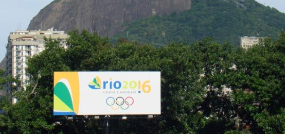 Banner das Olimpíadas (Foto: Wikimedia Commons)
