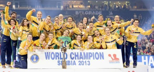 Brasil foi campeão mundial em 2013