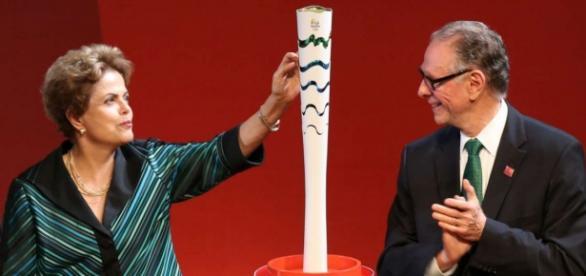 Dilma acredita no sucesso das Olímpiadas.