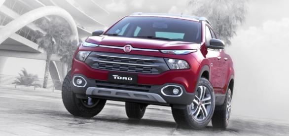 Fiat Toro fechou abril com fatia de 31%, entre picapes médias