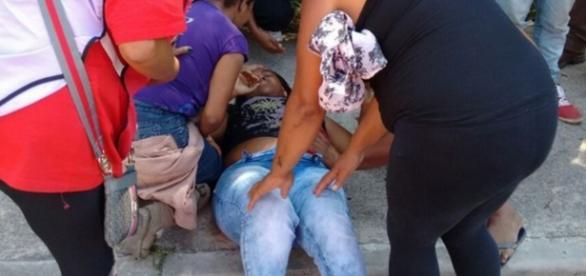 Militante é baleada em protesto do MTST