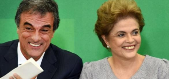 Cardozo e Dilma Rousseff - Imagem/Google