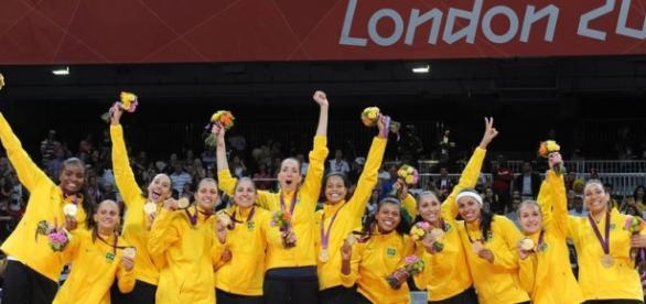 O vôlei feminino foi ouro nas Olimpíadas de 2012 (Foto: Divulgação)