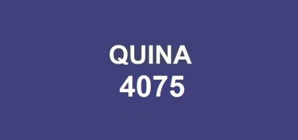 Quina 4075; Sorteio realizado nessa quarta-feira, dia 4.