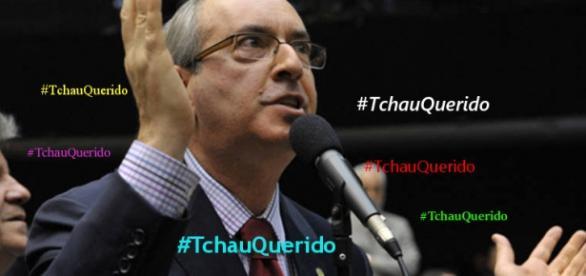 #TchauQuerido mostra a satisfação do brasileiro com o afastamento de Cunha