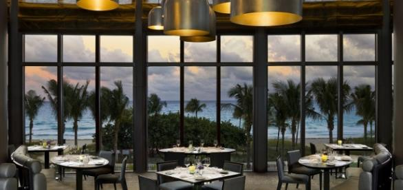 a beautiful view of the Atlantic Ocean (St. Regis Bal Harbour--with permission)