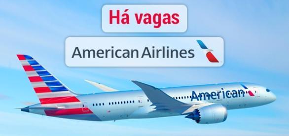 Vagas na American Airlines. Foto: Reprodução AmericanAirlines.