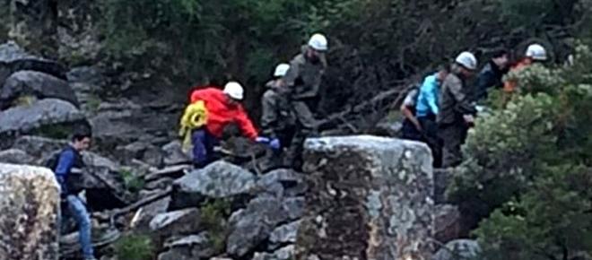 Homem morre em frente ao filho ao cair de uma cascata no Gerês