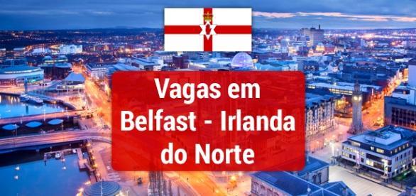 Capital da Irlanda do Norte tem vagas de trabalho - Foto: Reprodução Triip