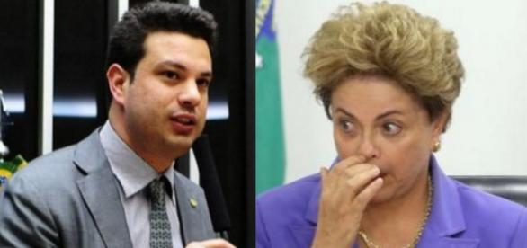Picciani e Dilma Rousseff - Foto/Montagem