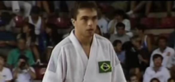 Rogério Sampaio nos Jogos de Barcelona. (Foto: Reprodução/Youtube)