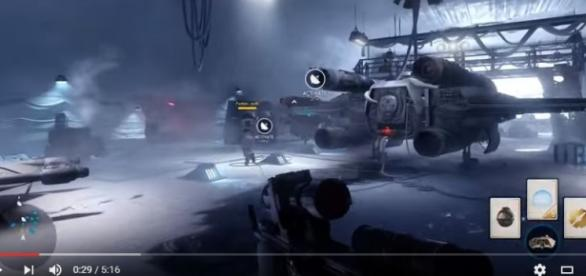 Star Wars Battlefront official gameplay trailer/ Screenshot from youtube trailer video
