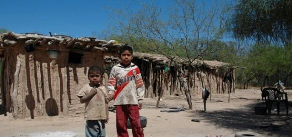 Uno de cada tres niños nuestro país vive en la probreza